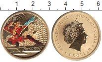 Изображение Монеты Австралия 1 доллар 2014  UNC- Елизавета II. Супер
