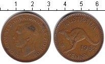 Изображение Монеты Австралия 1 пенни 1952 Медь VF