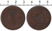 Изображение Монеты Ирландия 1 пенни 1935 Медь VF Квочка