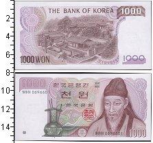 Изображение Банкноты Южная Корея 1000 вон 1983  UNC-