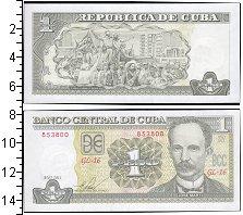 Изображение Боны Куба 1 песо 2011  UNC-