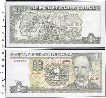 Картинка Боны Куба 1 песо  2011