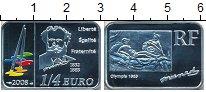 Изображение Монеты Франция 1/4 евро 2008 Серебро Proof- Олимпия 1863