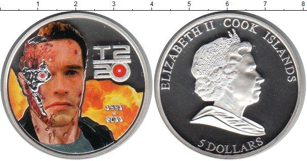 Картинка Монеты Острова Кука 5 долларов Серебро 2011