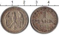 Изображение Монеты Веймарская республика 1 марка 1924 Серебро XF