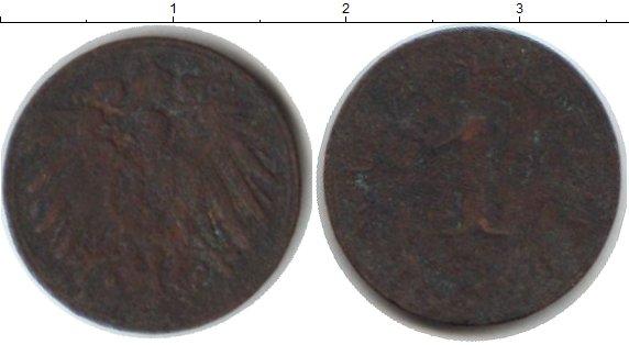 Картинка Монеты Германия 1 пфенниг Медь 0
