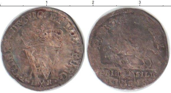 Картинка Монеты Брауншвайг-Люнебург 2 марьенгроша Серебро 1718