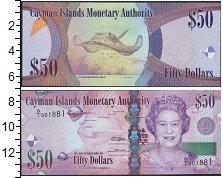 Изображение Банкноты Каймановы острова 50 долларов 0  UNC-