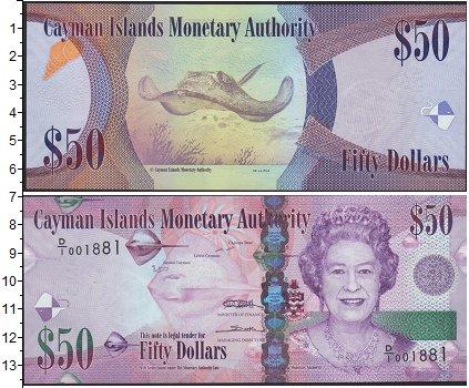 Картинка Боны Каймановы острова 50 долларов  0