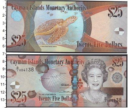Картинка Банкноты Каймановы острова 25 долларов  0