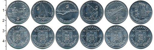Изображение Наборы монет Румыния Румыния 1996 1996 Медно-никель UNC- В наборе 6 монет ном