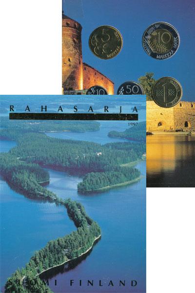 Изображение Подарочные монеты Финляндия Выпуск 1997 1997  UNC