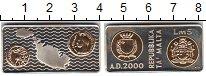 Изображение Монеты Мальта 5 лир 2000 Серебро Proof-