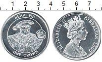 Изображение Монеты Гибралтар 1 крона 2009 Серебро Proof-
