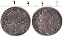 Изображение Монеты Великобритания 6 пенсов 1697 Серебро VF Вильям III