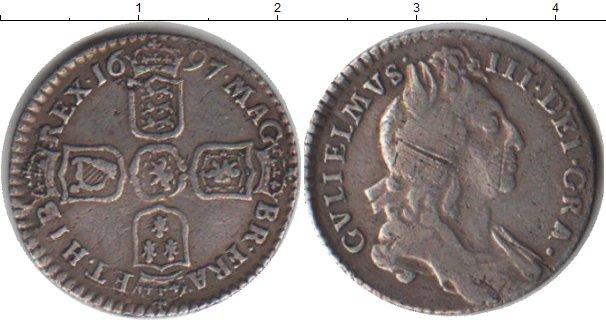 Картинка Монеты Великобритания 6 пенсов Серебро 1697