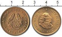 Изображение Монеты ЮАР 1/2 цента 1964 Медь UNC-