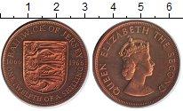 Изображение Монеты Остров Джерси 1/12 шиллинга 1966 Медь UNC