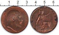 Изображение Монеты Великобритания 1 пенни 1905 Медь XF Георг V