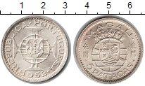 Изображение Монеты Макао 5 патак 1952 Серебро UNC-