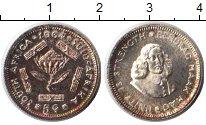 Изображение Монеты ЮАР 5 центов 1964 Серебро XF