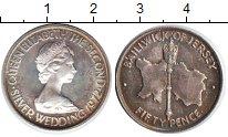 Изображение Монеты Остров Джерси 50 пенсов 1972  XF