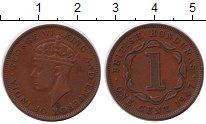 Изображение Монеты Белиз 1 цент 1947 Медь XF