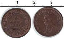 Изображение Монеты Индия 1/12 анны 1936 Медь XF Георг V