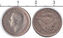 Изображение Монеты ЮАР 3 пенса 1943 Серебро VF