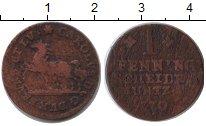 Изображение Монеты Брауншвайг-Вольфенбюттель 1 пфенниг 1770 Медь