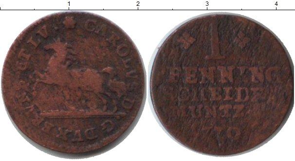 Картинка Монеты Брауншвайг-Вольфенбюттель 1 пфенниг Медь 1770