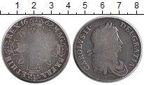 Изображение Монеты Великобритания 1 крона 1662 Серебро VF Карл II