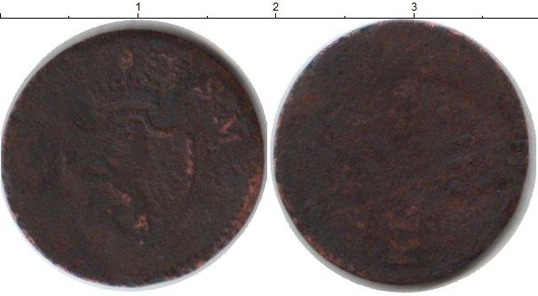 Картинка Монеты Нассау 1 крейцер Медь 0