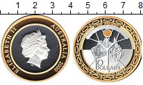 Изображение Монеты Австралия 10 долларов 2000 Серебро UNC-