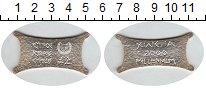 Изображение Монеты Кипр 2 фунта 2000 Серебро UNC- Миллениум 2000. Назв
