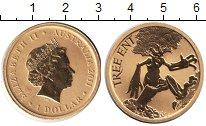 Изображение Монеты Австралия 1 доллар 2011  Proof- Елизавета II. Дерево