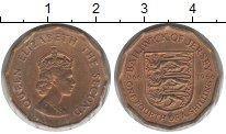Изображение Монеты Остров Джерси 1/4 шиллинга 1966  XF Елизавета II
