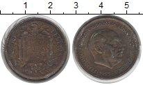Изображение Монеты Испания 2 1/2 песета 1953  VF