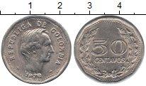 Изображение Монеты Колумбия 50 сентаво 1972 Медно-никель XF Симон Боливар