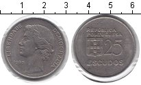 Изображение Монеты Португалия 25 эскудо 1980 Медно-никель XF