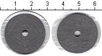 Изображение Монеты Бельгия 25 сантим 1945 Цинк XF