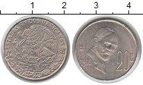 Изображение Монеты Мексика 20 сентаво 1976 Медно-никель XF портрет