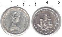 Изображение Монеты Остров Мэн 5 пенсов 1975 Медно-никель UNC- Елизавета II. Крепос
