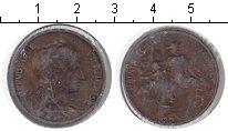 Изображение Монеты Франция 5 сантим 0 Медь VF Республика и дети