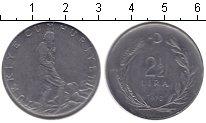 Изображение Монеты Турция 2 1/2 лиры 1970 Медно-никель XF