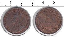 Изображение Монеты Канада 1 цент 1913 Медь VF