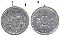 Изображение Монеты Куба 5 сентаво 1966 Алюминий XF