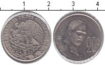 Изображение Монеты Мексика 20 сентаво 1979 Медно-никель XF