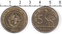 Изображение Монеты Уругвай 5 песо 2011  UNC- Нанду