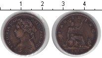Изображение Монеты Великобритания 1 фартинг 1876 Медь VF